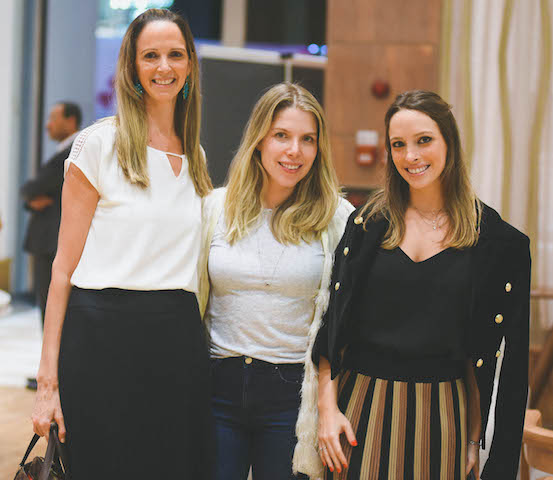 Fabiana Rivkind, Marcela Kanner e Giselle Rivkind