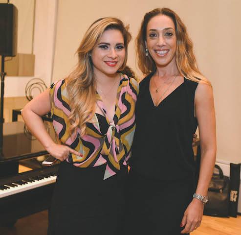 Geovana Quadros e Andrea Orcioli