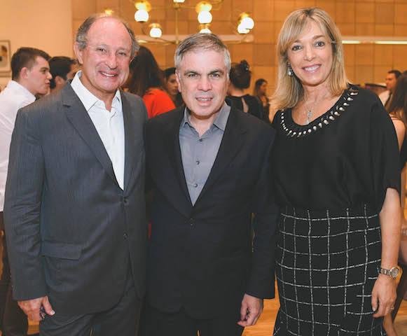 Marcel Rivkind, Flávio Rocha e Anette Rivkind
