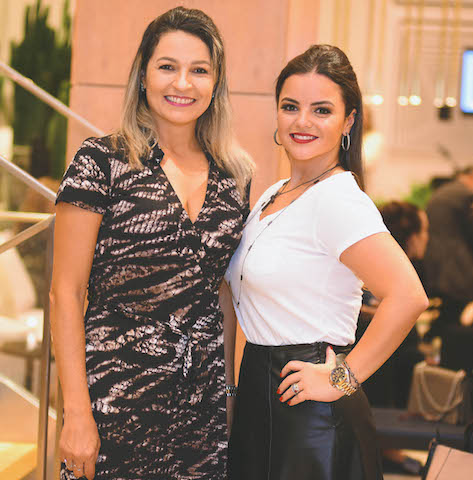 Rosa Lima e Isabella Faria
