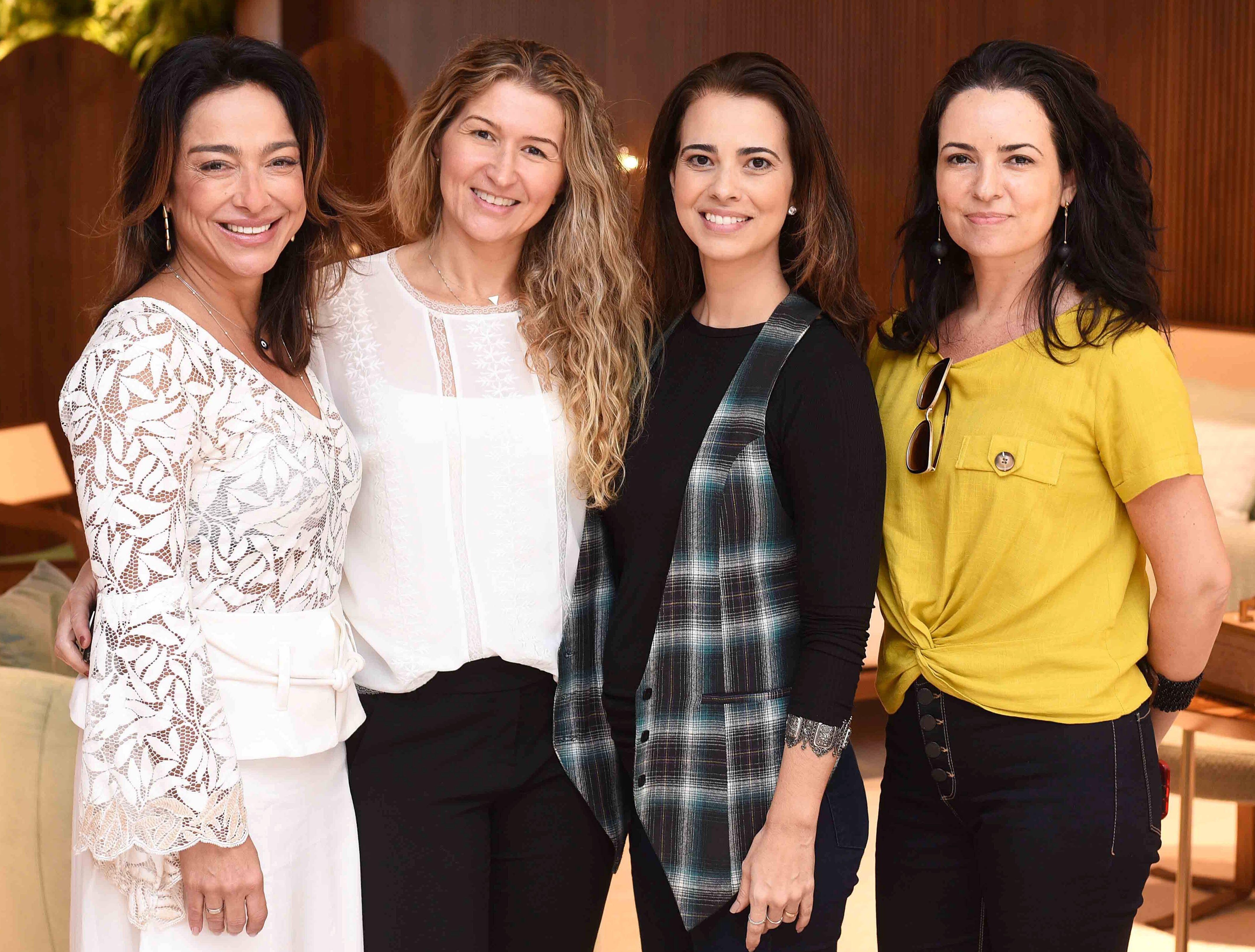 Ana Paula Iespa, Alessandra Reis, Evelyn e Elise Drummond/ Foto:  Ary Kaye