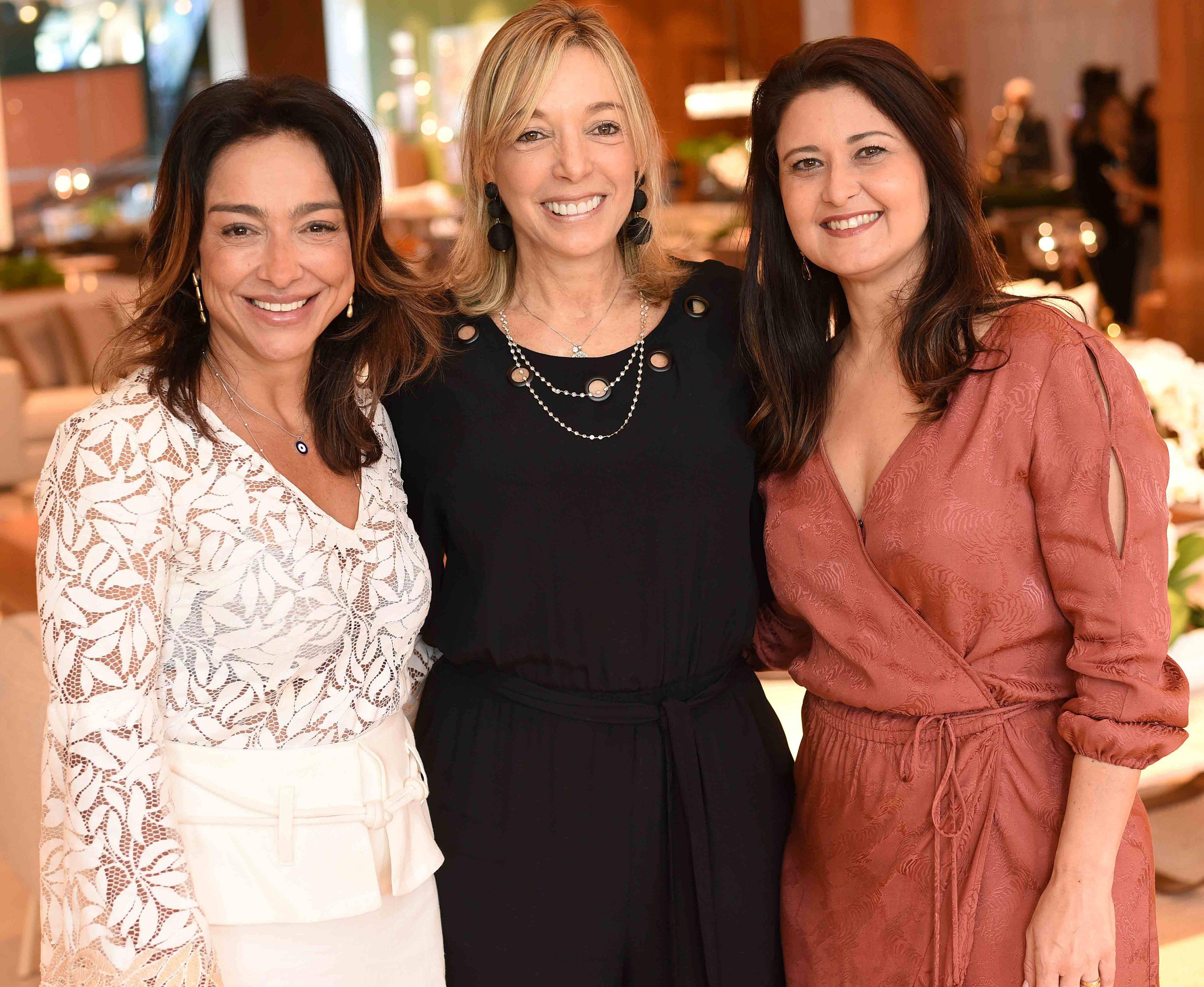 Ana Paula Iespa, Anette Rivkind e Marcia Morelli/ Foto:  Ary Kaye