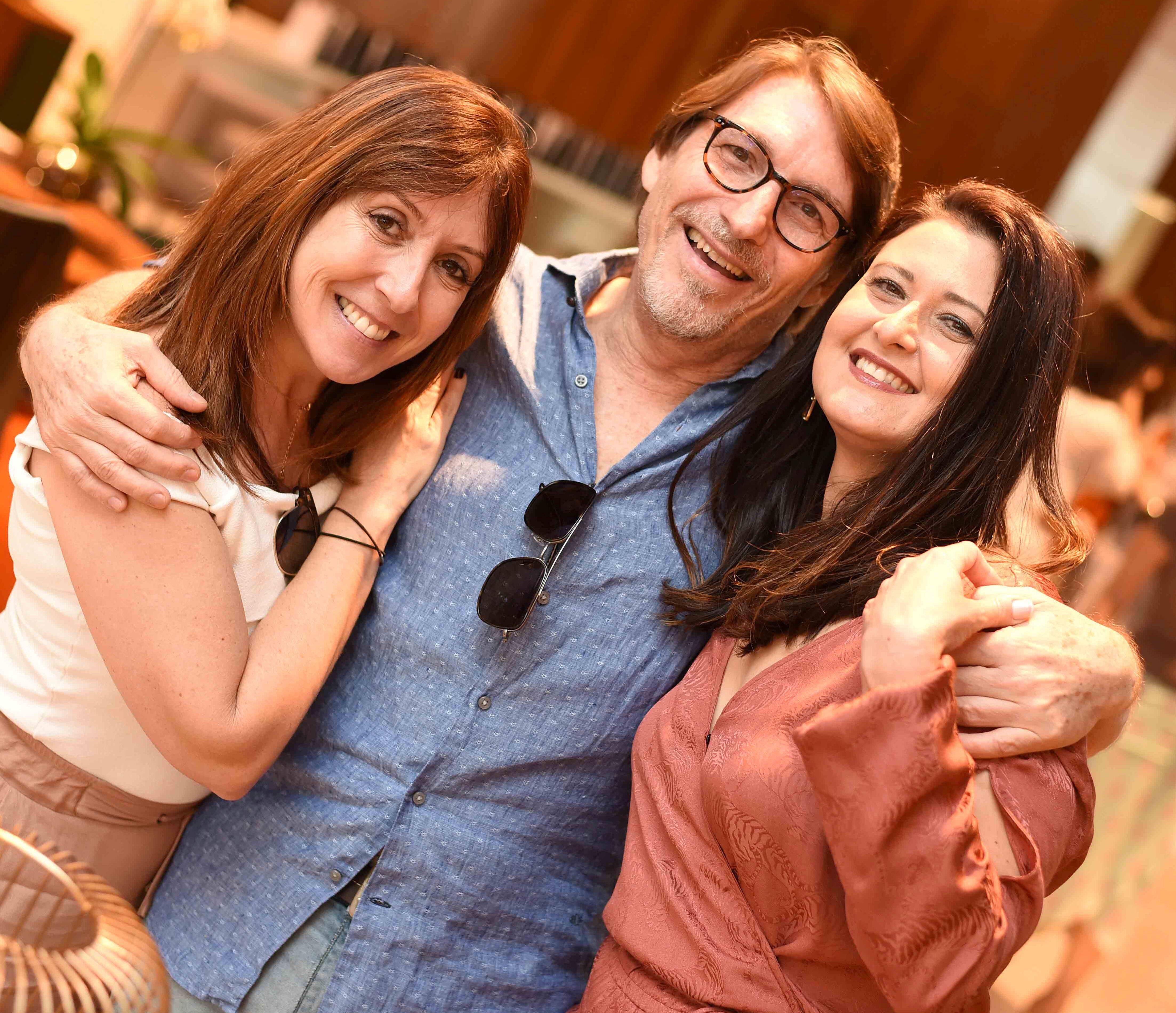 Carmen Mouro, Francisco Amorim e Marcia Morelli/ Foto:  Ary Kaye