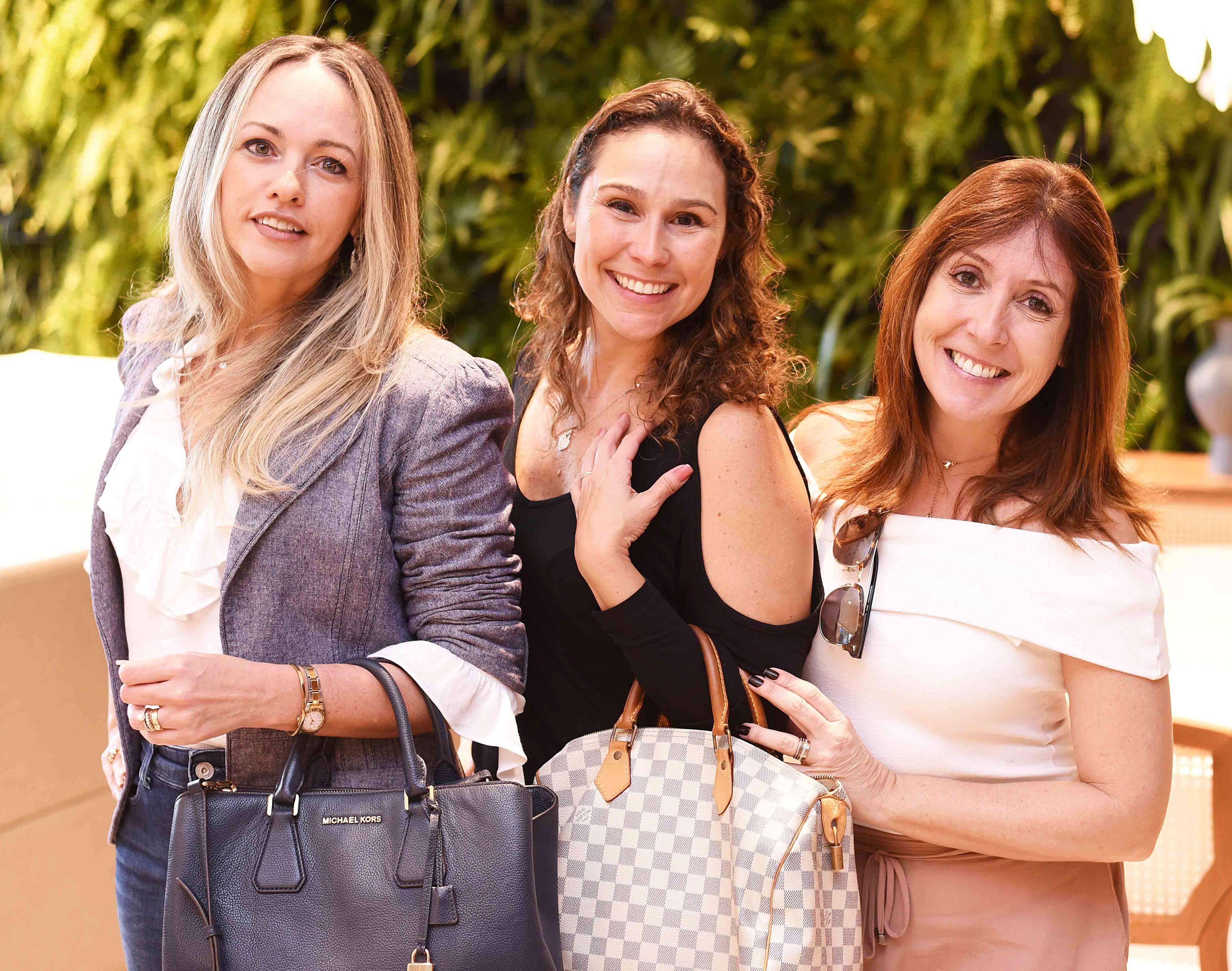 Flavia Campos, Andrea Figari e Carmen Mouro/ Foto:  Ary Kaye