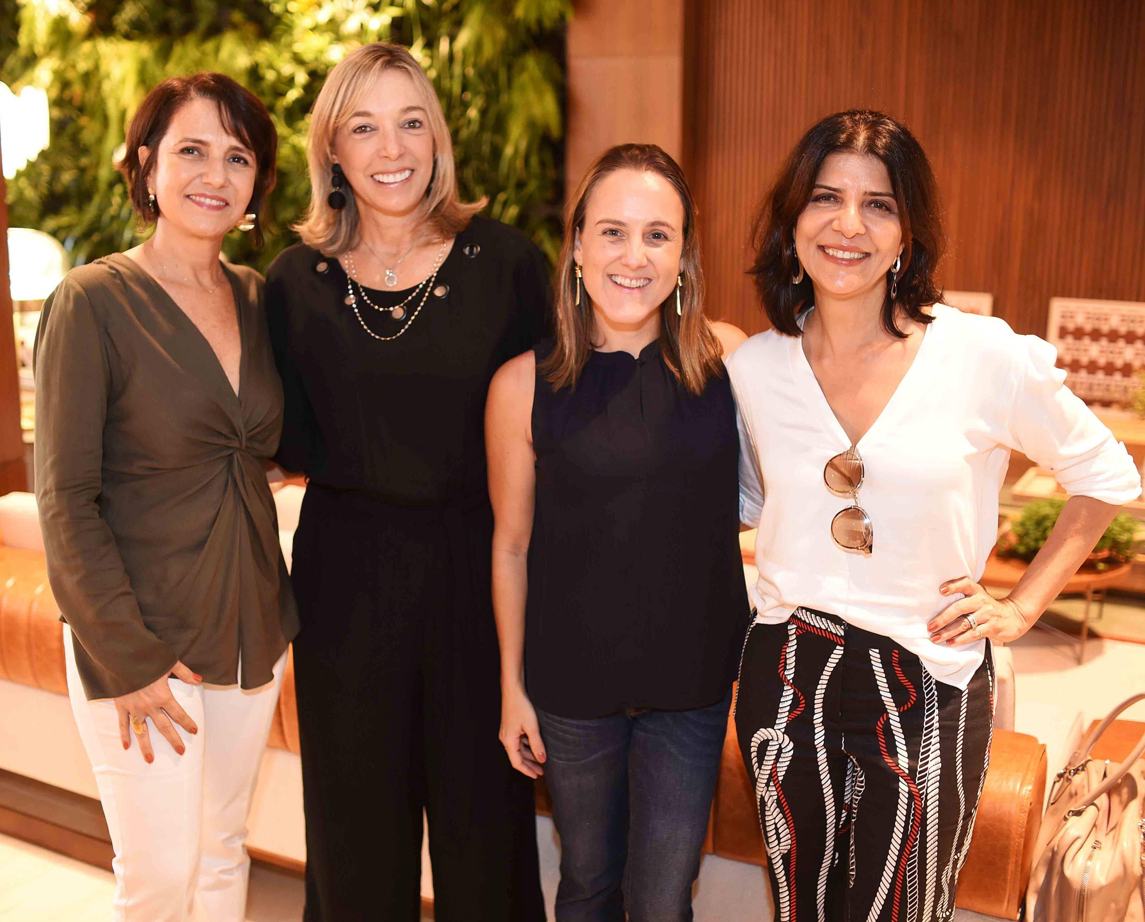 Laura Bezamat, Anette Rivkind, Roberta Nicolau e Cristina Bezamat/ Foto:  Ary Kaye