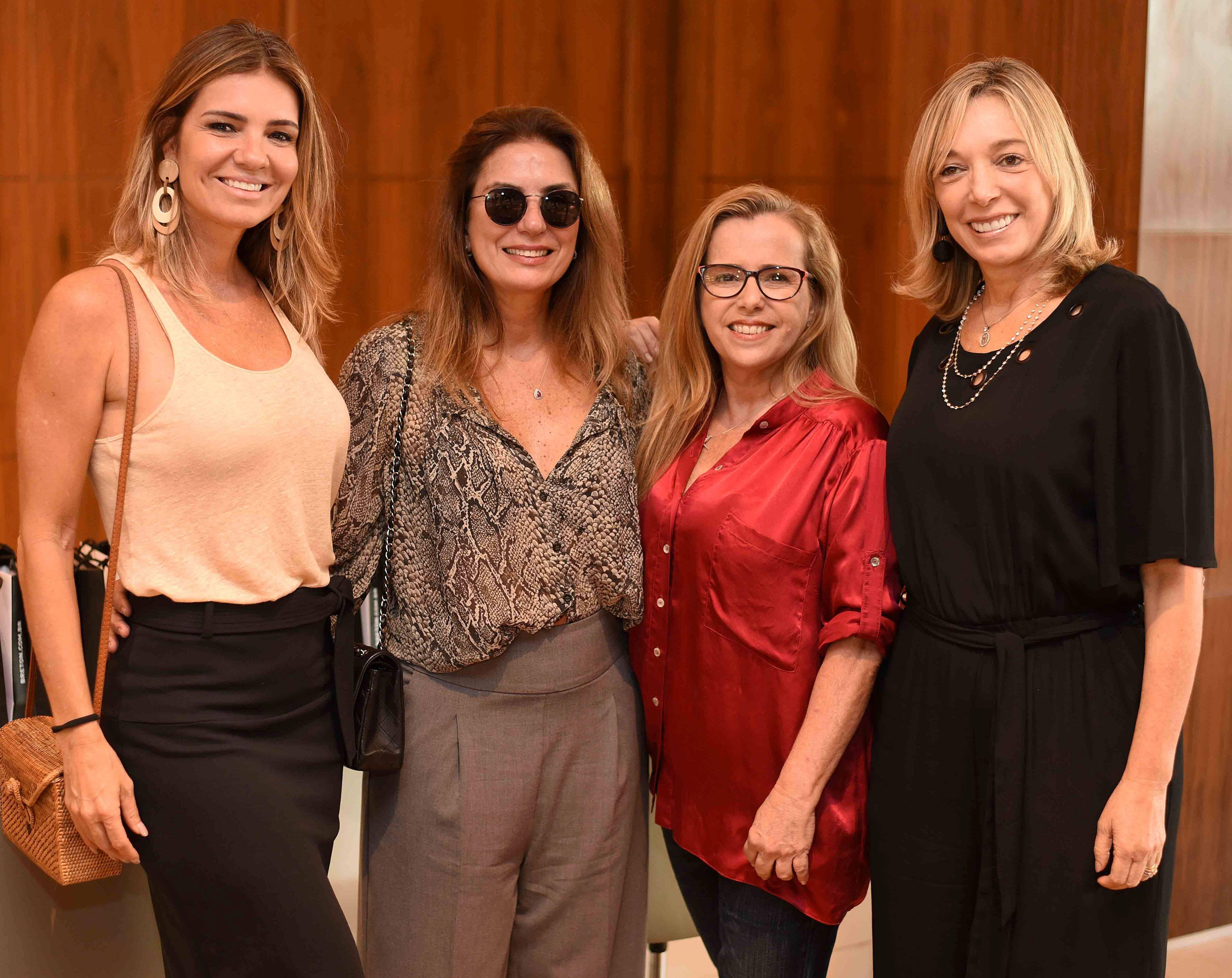 Marcia Meira, Monica Gervasio, Miriane Flores e Anette Rivkind/ Foto:  Ary Kaye