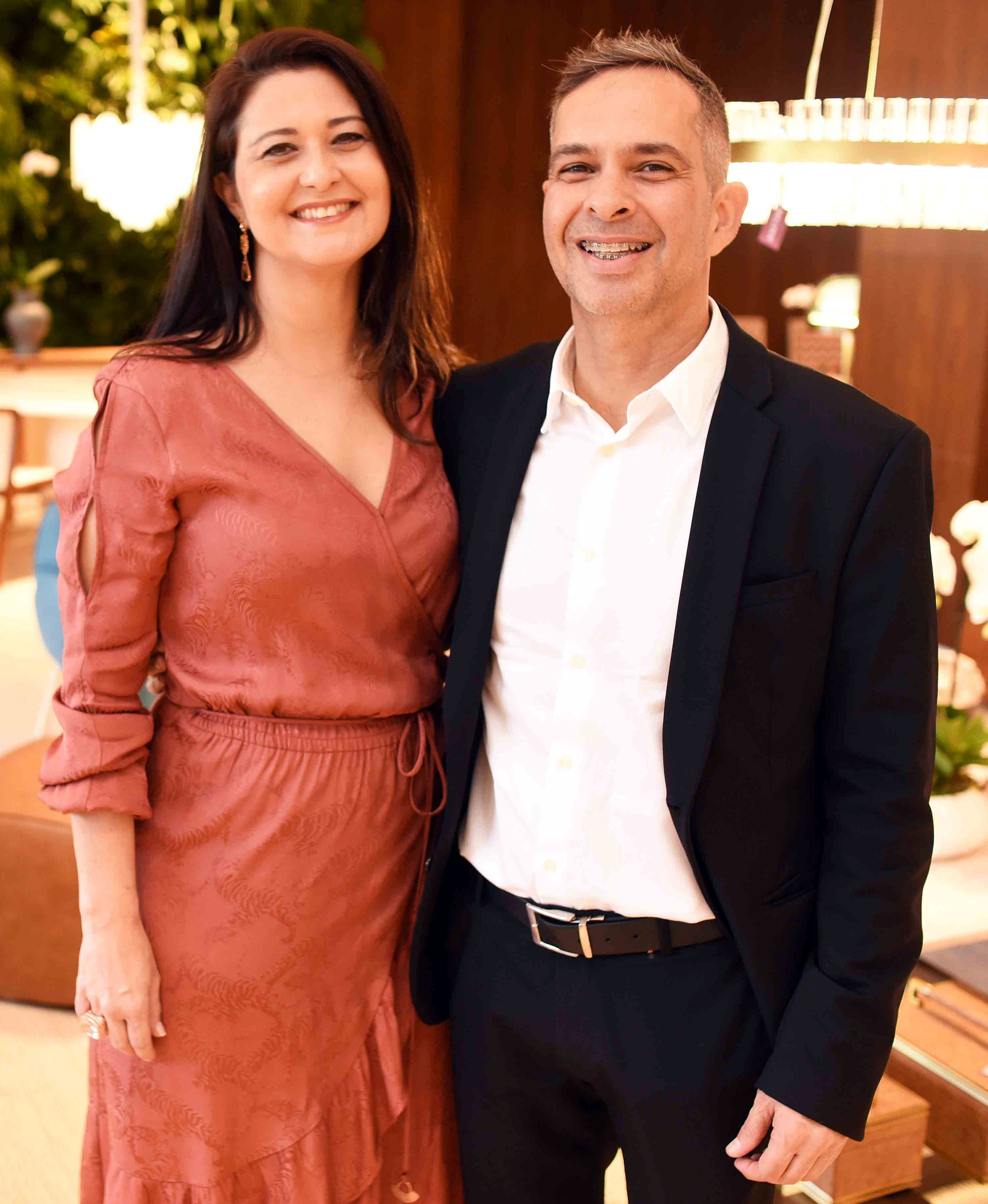 Marcia Morelli e Casé Lima/ Foto:  Ary Kaye