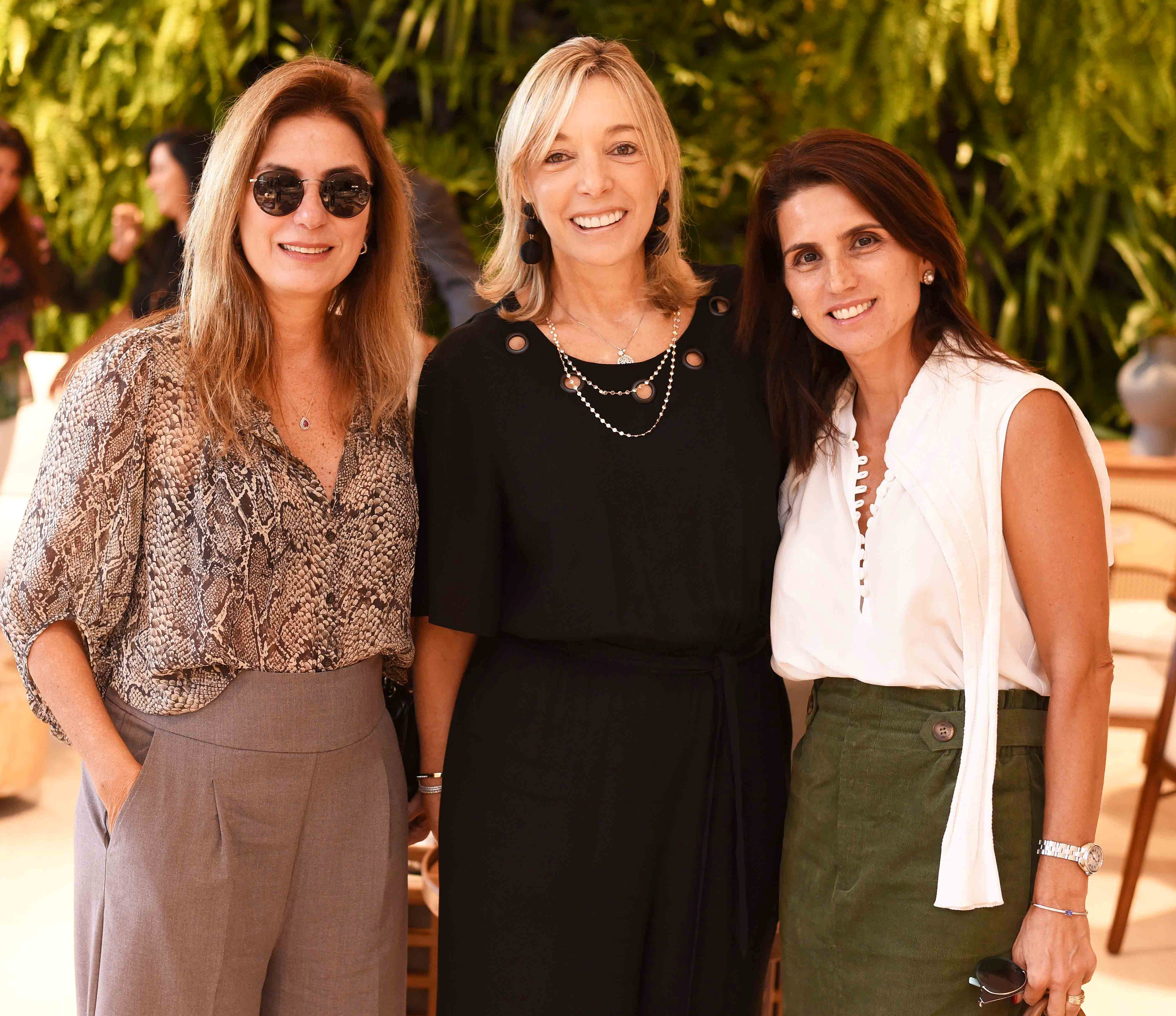 Monica Gervasio, Anette Rivkind e Ana Lucia Juca/ Foto:  Ary Kaye