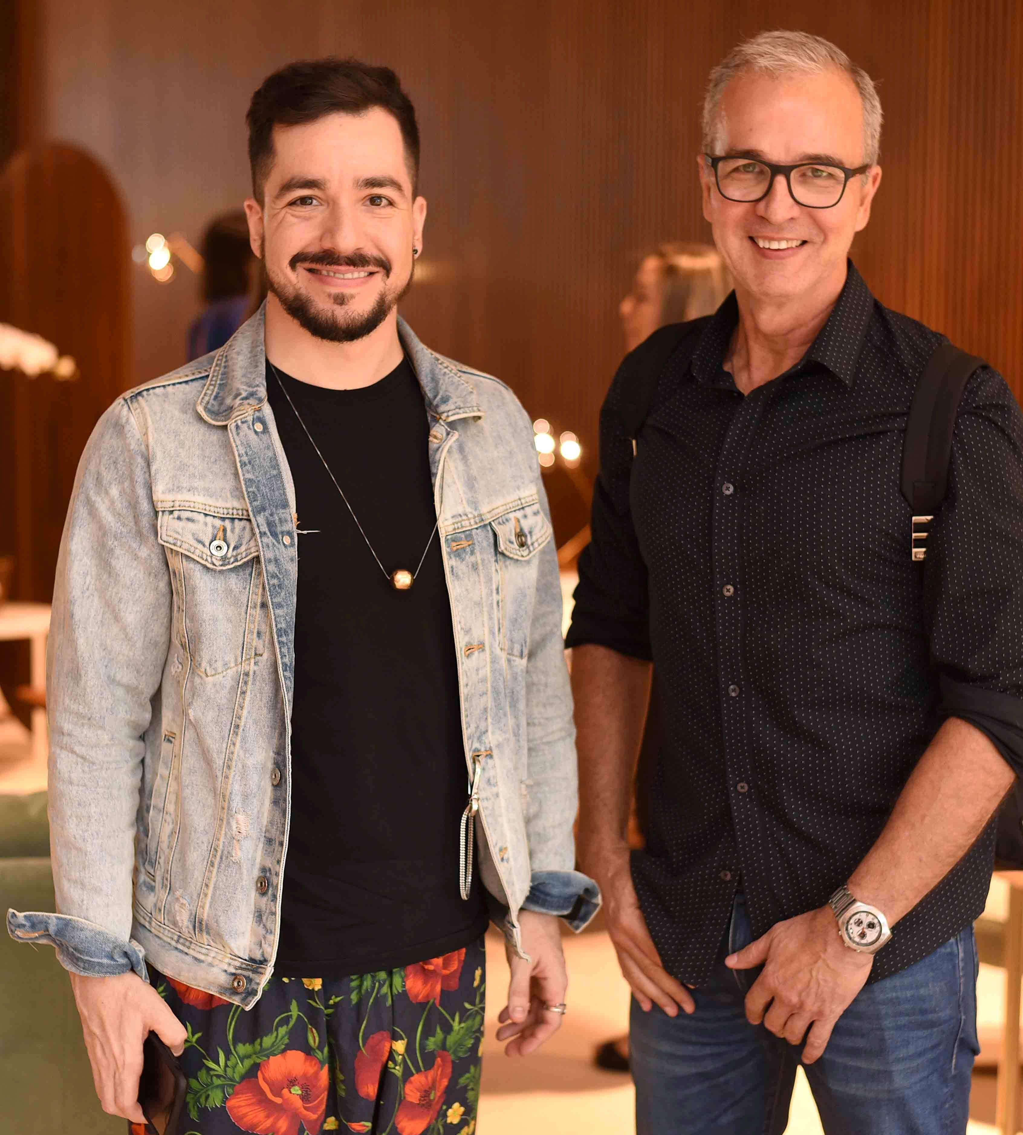 Murilo Weitz e Jorge Delmas/ Foto:  Ary Kaye