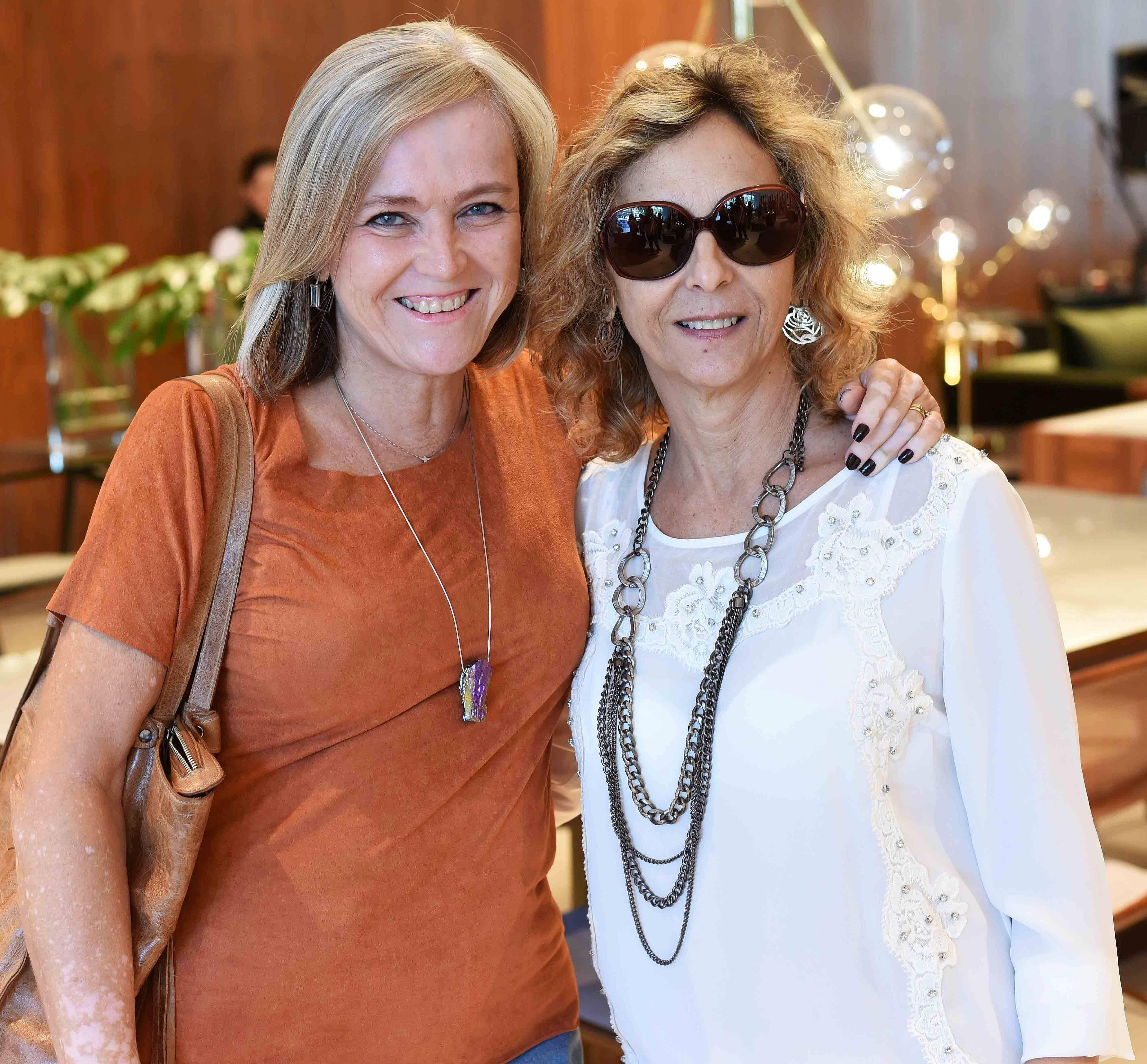 Rosa Maria Prado e Virginia Fraga/ Foto:  Ary Kaye