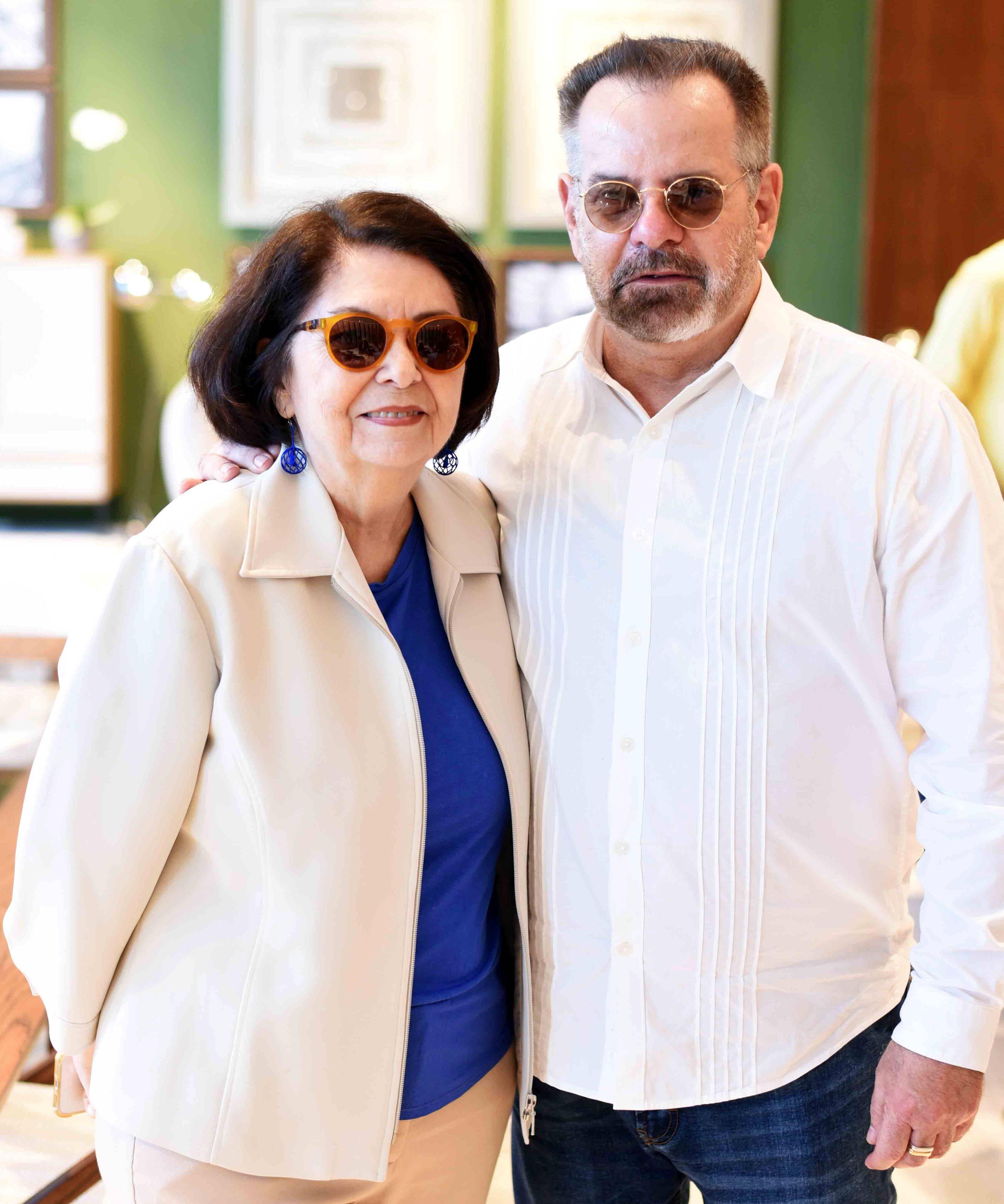 Suzete Aché e Eduardo Machado/ Foto:  Ary Kaye