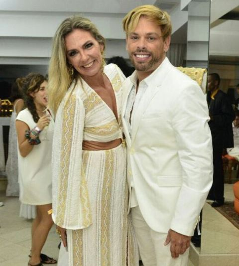 Marcia Veríssimo e Bruno Chateaubriand