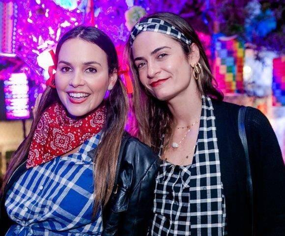 Alexia Mayer e Flavia Cirilo