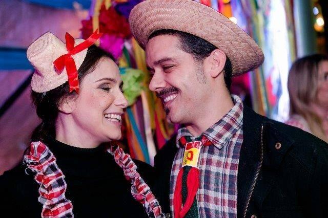Aline Fanju e Marcelo Calvacanti