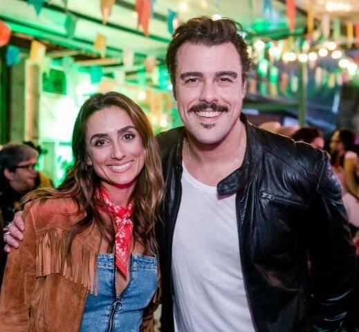 Camila Lucciola e Joaquim Lopes