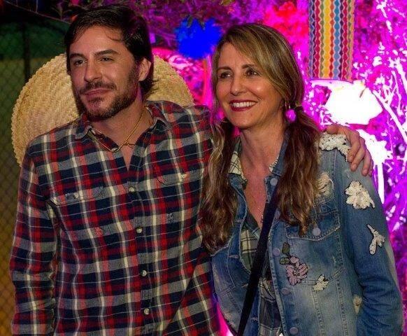 Christiane Alves e Ricardo Tozzi