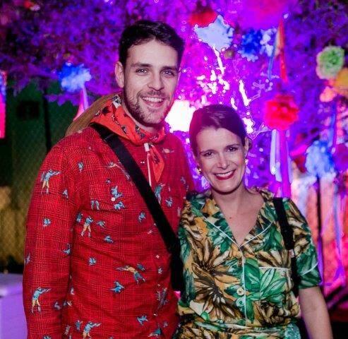 Bruno Ryfer e Mariana Vianna