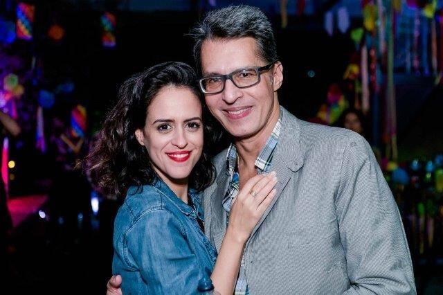 Paula Bezerra de  Mello e Theo Chermont de Britto