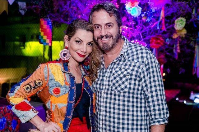 Renata Reis e Sergio Conde Caldas