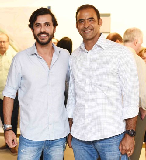 Artur Fernandes e Tuneca Ferreira Leite