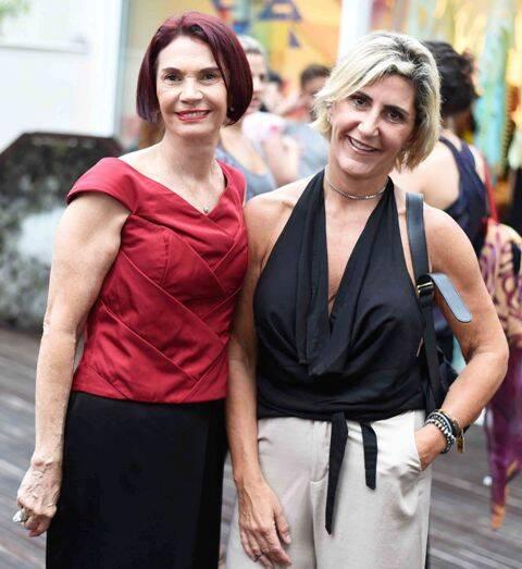 Eunice Neco e Cleide Colognori