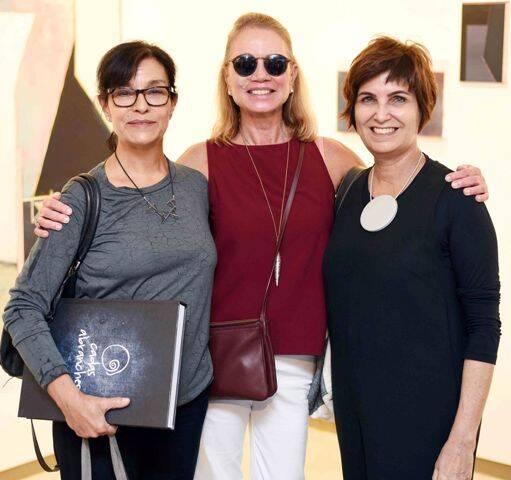 Heloisa Faria, Ana Cândida e Margarida Vianna