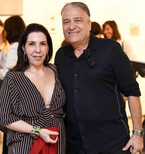 Paola Ribeiro e Luiz Marinho