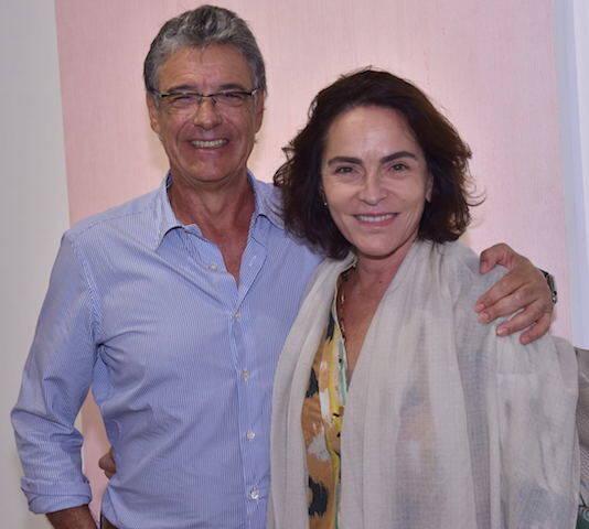 Paulo Henrique Cardoso e Evangelina Seiler