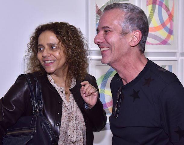 Beatriz Milhazes e Caetano de Almeida