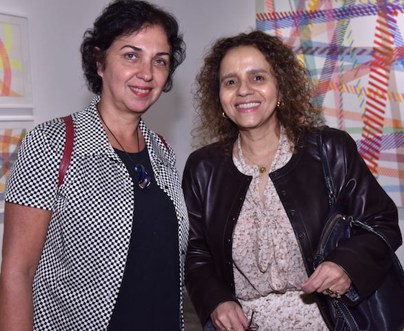 Suzana Queiroga e Beatriz Milhazes