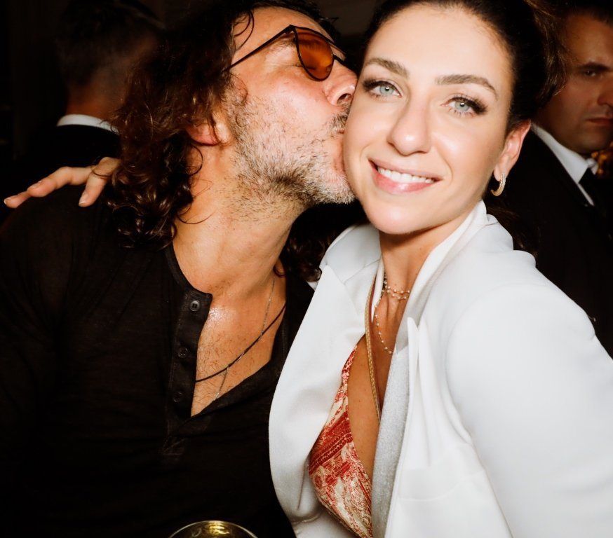 Roberto Scafuro e Juliana Rabecchie