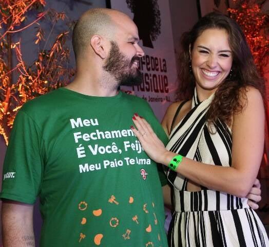 Guilherme Barros e Amanda Richter