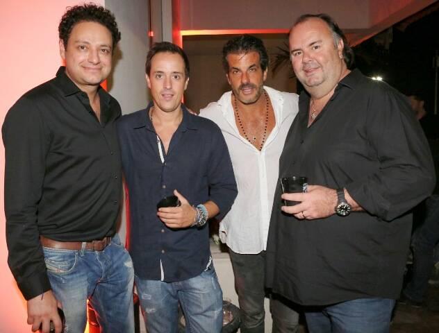 Henrique Pinto, Kako Perroy, Álvaro Garnero e Jack E