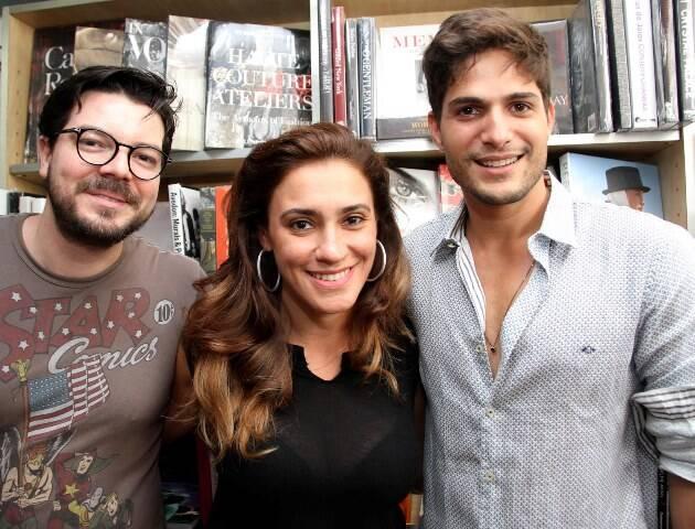 Will Viana, Camila Gagliardi e André Martinelli