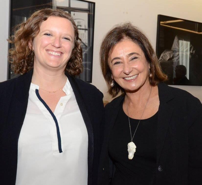 Julie Schein (da Gouvea Vieira Advogados) e Claudine Bichara de Oliveira  /Foto: Marco Rodrigues