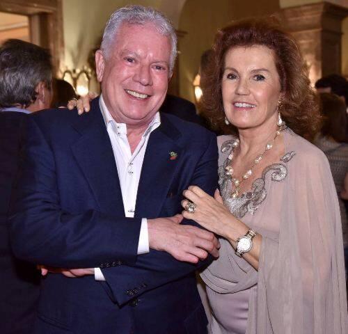Chicô Gouvêa e Maria Eduarda Leitão
