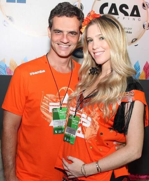 Patrick Ostrowsky e Nicole Abramoff