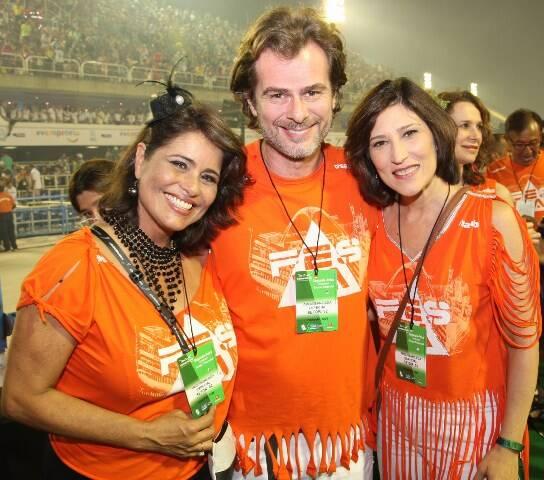 Valéria Alencar, João Vitti e Beth Goulart