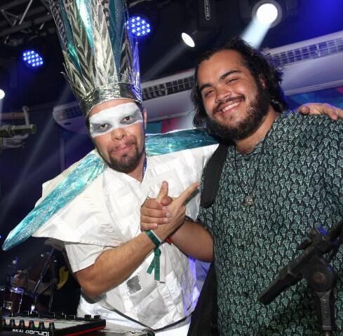O DJ MAM e Francisco Gil