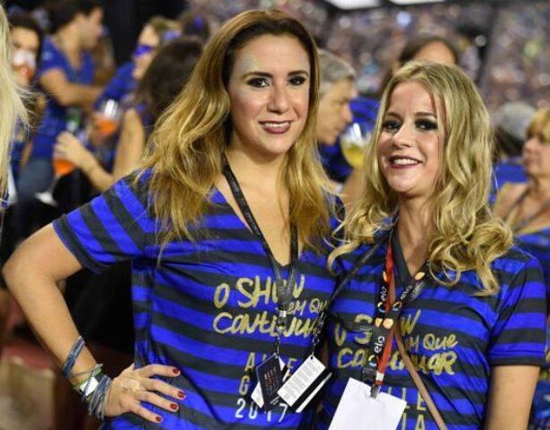 Maria Carolina Sampaio e Celina Palhares
