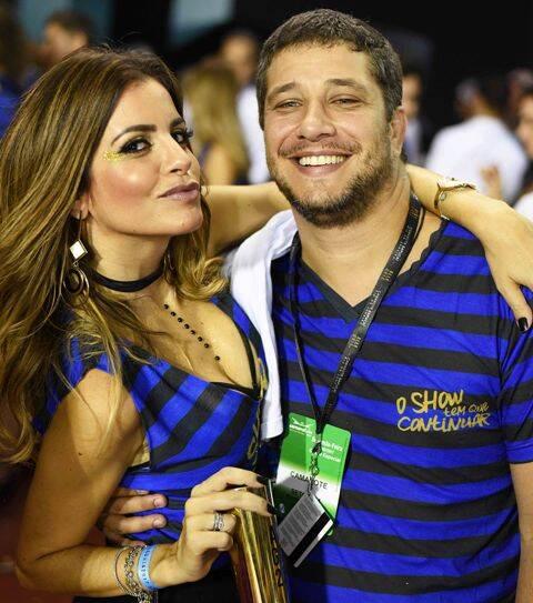 Priscila Luz e Bernardo Mantuano