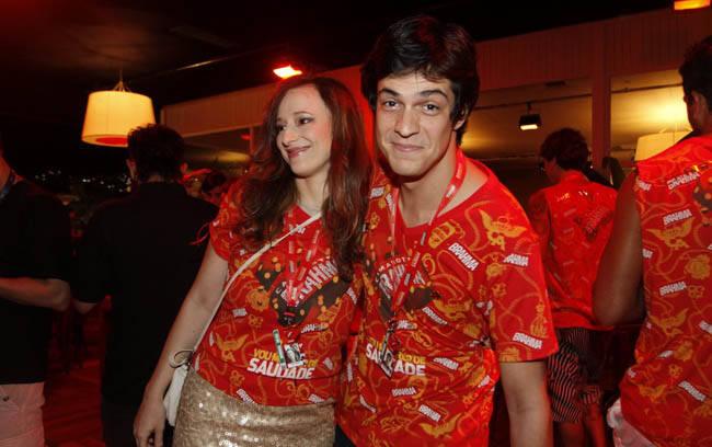 Mateus Solano e Paula Braum. Eles não paravam de dançar!