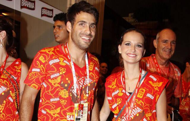 Fernanda Rodrigues e namorado