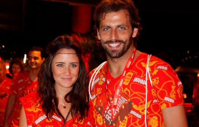 Fernanda Vasconcellos e Henri Castelli