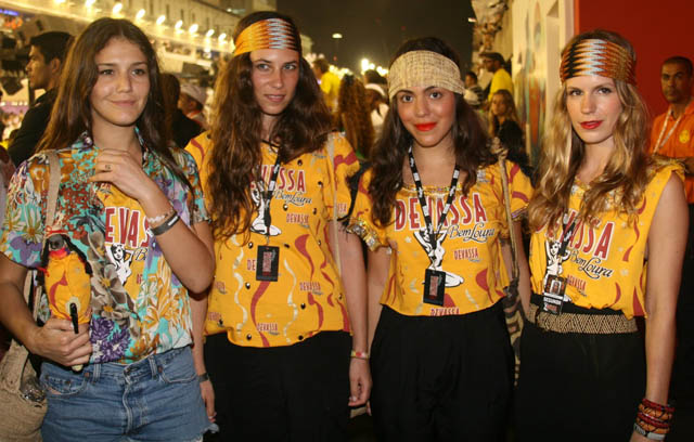 Margherita Missoni, Tatiana Santo Domingo, Concepcion Blaquier e Eugene Niarchos