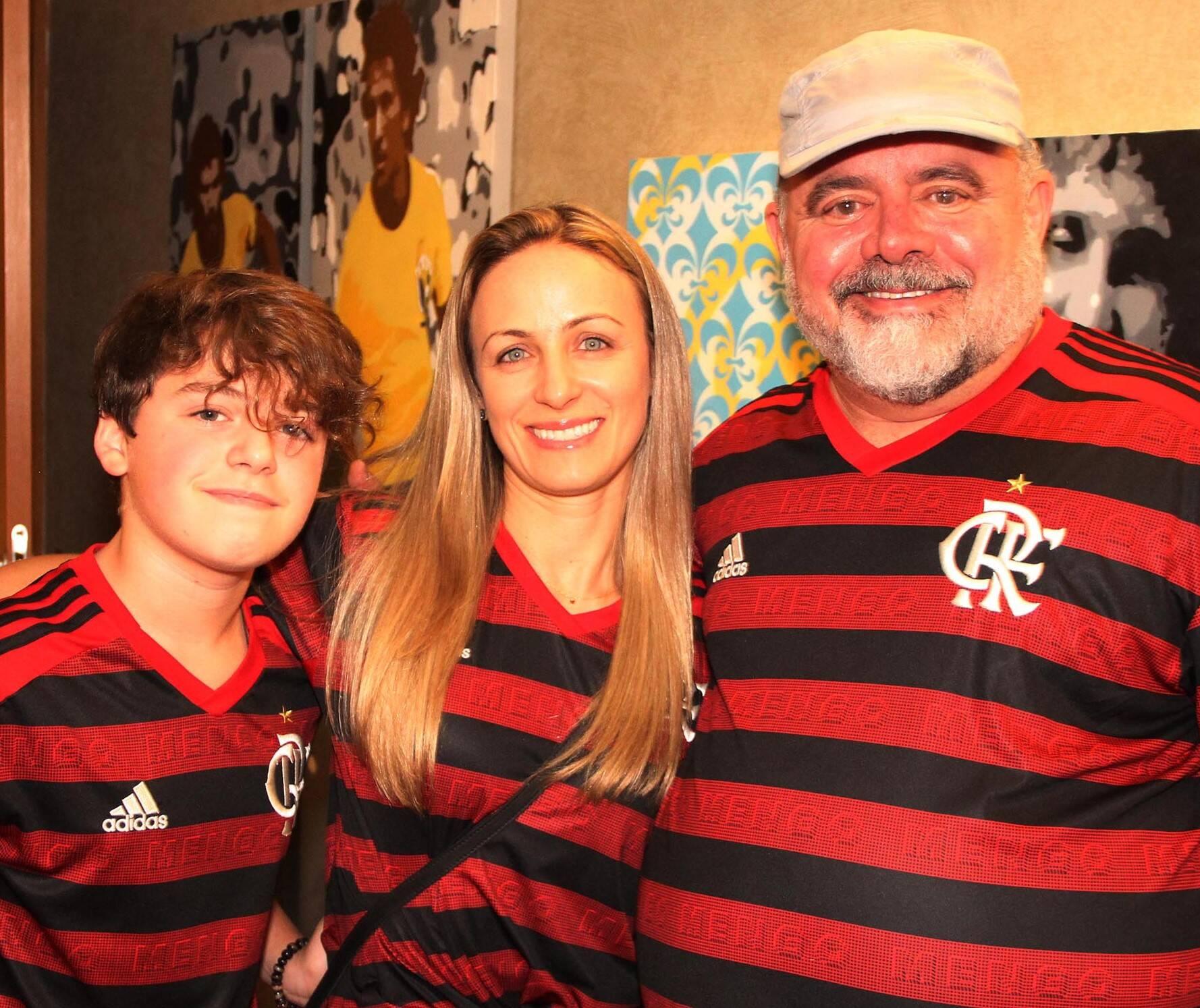 David , Daniela Lux e Leo Jaime  /Foto: Paulo de Deus