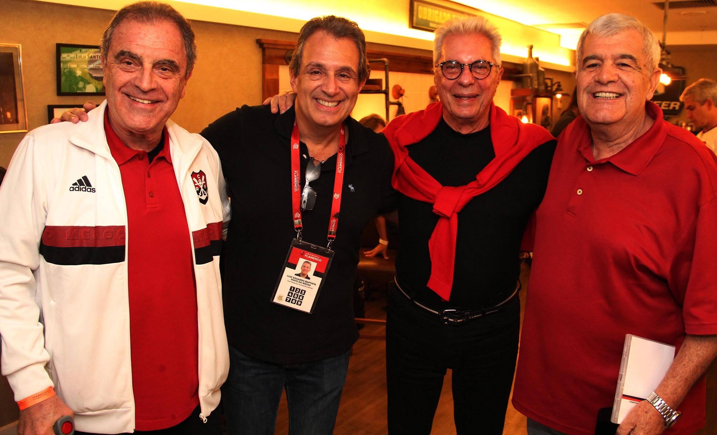 Kleber Leite, Luiz Eduardo Baptista,  Marcio Braga e Michel Asseff  /Foto: Paulo de Deus