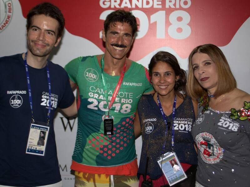 Luiz Fernando Coutinho, Reynaldo Gianecchini, Fernanda Pereira e Liège Monteiro