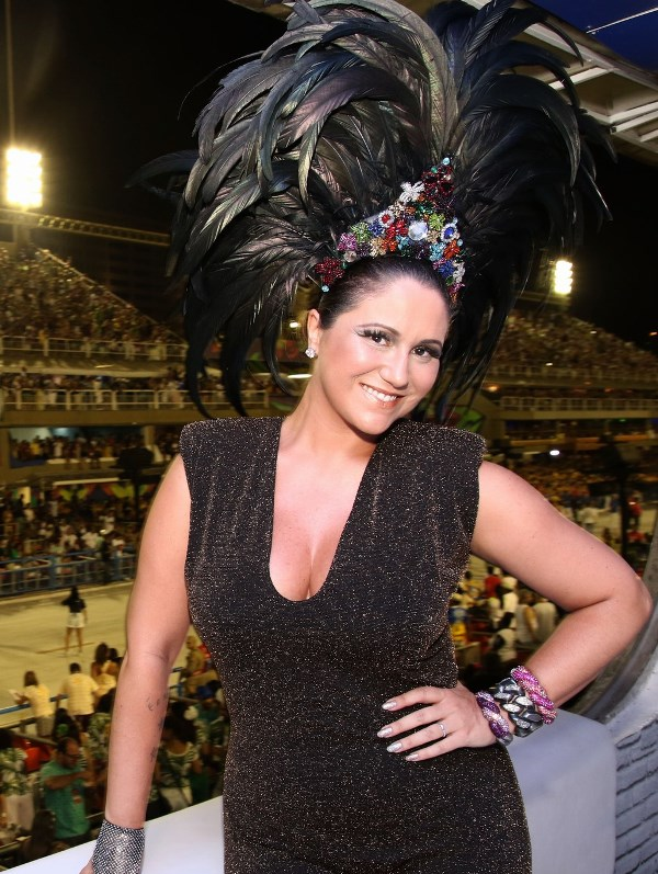 Maria Rita, a musa do camarote