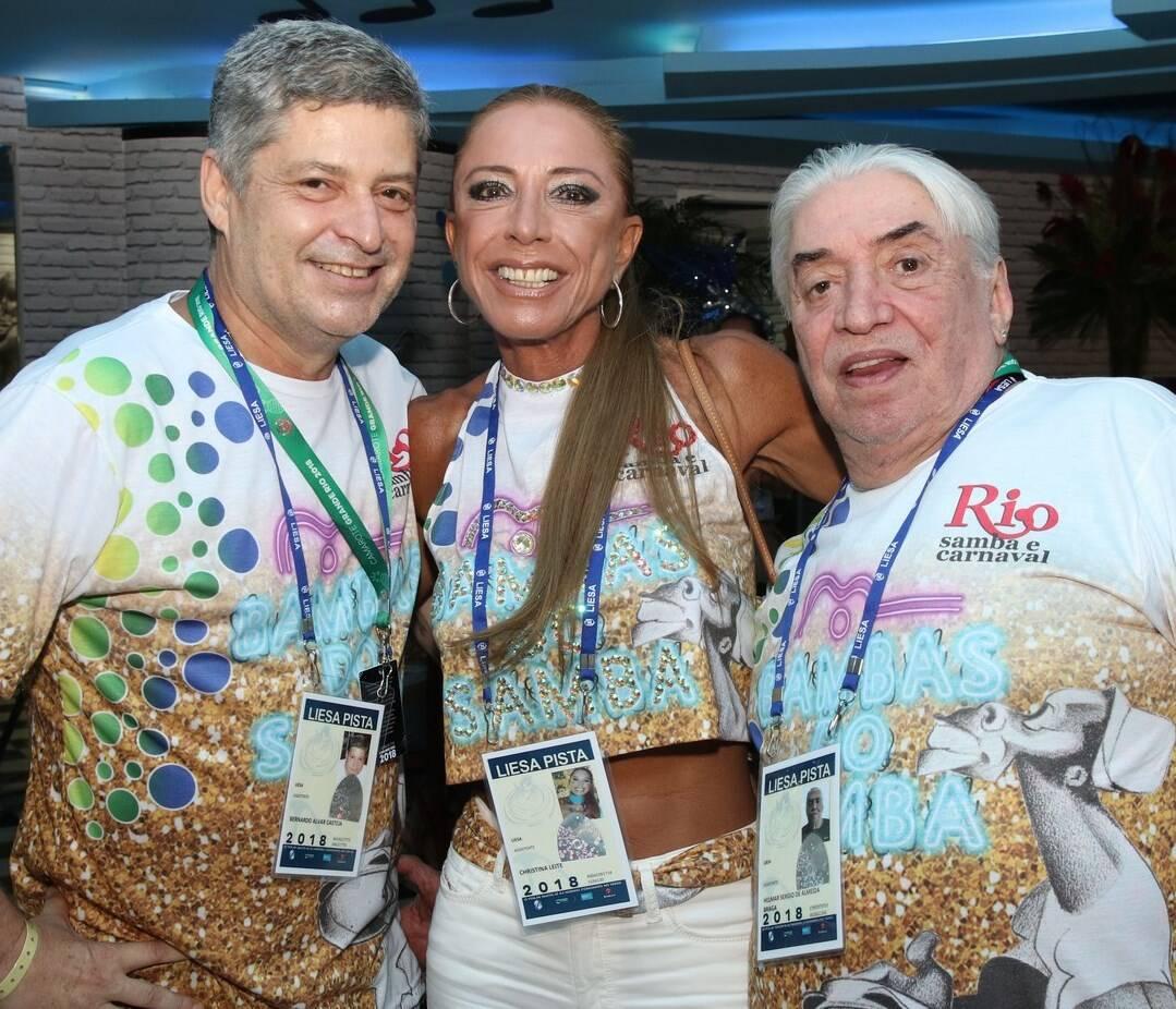 Bernard de Castejá, Christina Leite e Helmar Sérgio